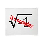 It's Complex! Throw Blanket