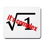 It's Complex! Mousepad