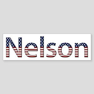 Nelson Stars and Stripes Bumper Sticker