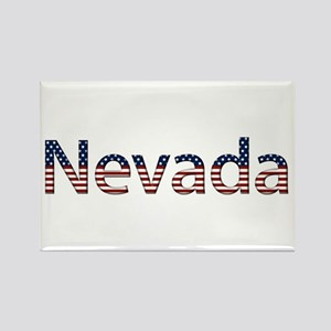 Nevada Stars and Stripes Rectangle Magnet