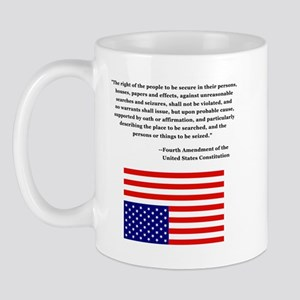 4th Amendment & Upside Down Flag Mug