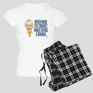 Never make eye contact while Women's Light Pajamas