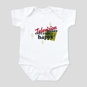 Atomic Age Television Infant Bodysuit