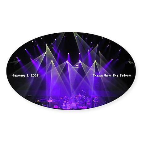 Phish Oval Sticker