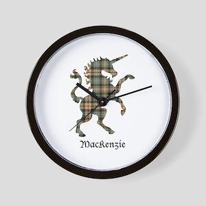 Unicorn-MacKenzie htg brn Wall Clock