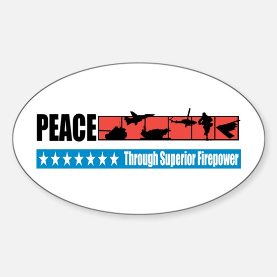 Superior Firepower Oval Decal