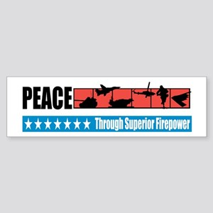 Superior Firepower Bumper Sticker