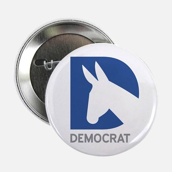 """Democrat 2.25"""" Button"""