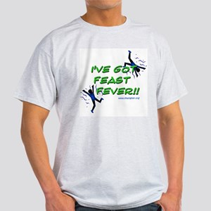 Feast Fever Ash Grey T-Shirt