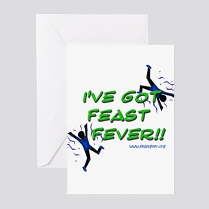Feast Fever Greeting Cards (Pk of 10)