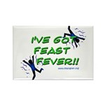 Feast Fever Rectangle Magnet