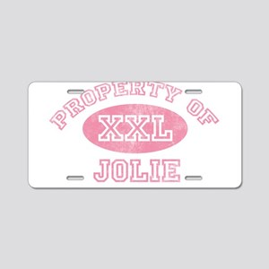Property of Jolie Aluminum License Plate