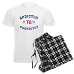 Addicted to Chemistry Men's Light Pajamas