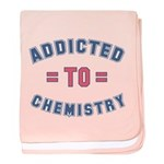 Addicted to Chemistry baby blanket