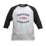 Addicted to Chemistry Kids Baseball Jersey