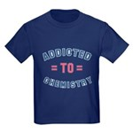 Addicted to Chemistry Kids Dark T-Shirt