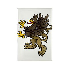 Gryphon Rectangle Magnet (10 pack)