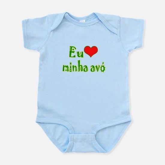 I Love Grandma (Port/Brasil) Infant Bodysuit