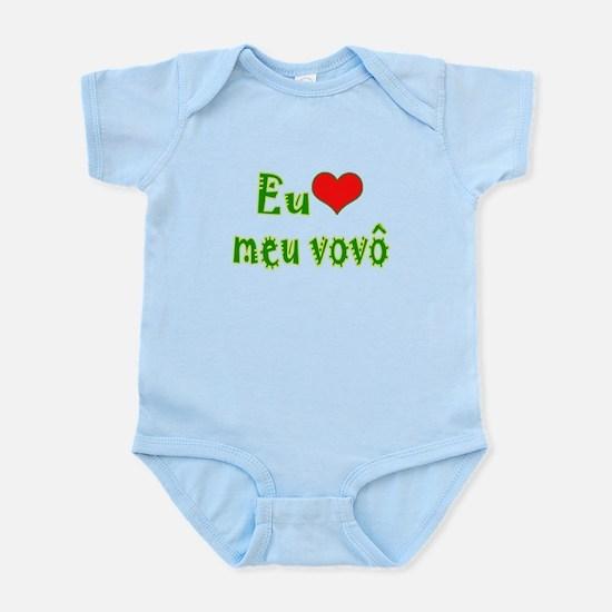 I Love Grandpa (Port/Brasil) Infant Bodysuit