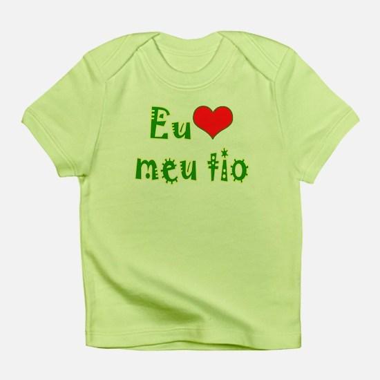 I Love Uncle (Port/Brasil) Infant T-Shirt