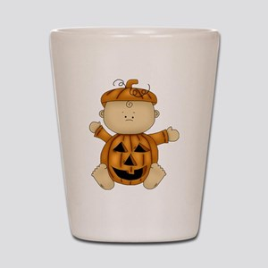 Cute Pumpkin Baby Shot Glass