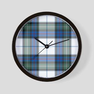Tartan - MacKenzie dress Wall Clock