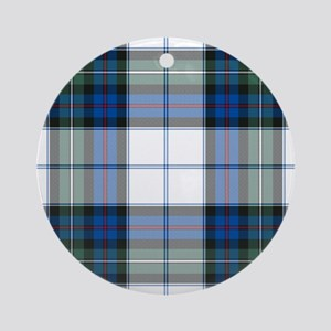 Tartan - MacKenzie dress Ornament (Round)