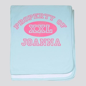 Property of Joanna baby blanket