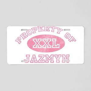 Property of Jazmyn Aluminum License Plate