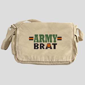 Military Army Brat Messenger Bag