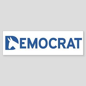 Democrat Word Sticker (Bumper)