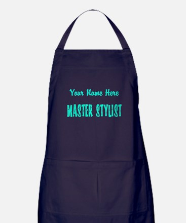 Customized Master Stylist Apron (dark)