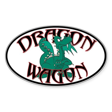 Dragon Wagon Sticker
