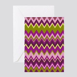 Zig Zag Designer Slider Greeting Card