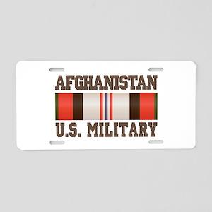 Afghanistan US Military Aluminum License Plate