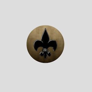 Saint Fleur De Lis Mini Button