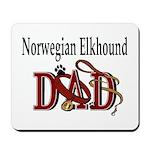 Norwegian Elkhound Dad Mousepad
