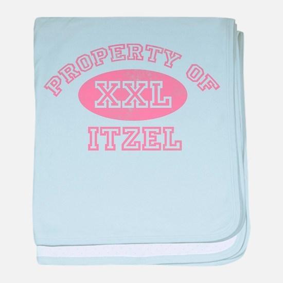 Property of Itzel baby blanket