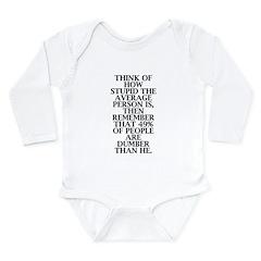 Snark Long Sleeve Infant Bodysuit