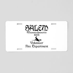 Salem Fire Department Aluminum License Plate