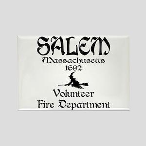Salem Fire Department Rectangle Magnet