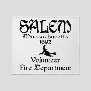 Salem Fire Department Throw Blanket