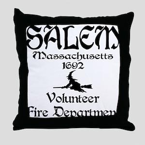 Salem Fire Department Throw Pillow