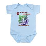 tiger face Infant Bodysuit