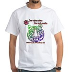 tiger face White T-Shirt