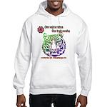 tiger face Hooded Sweatshirt