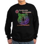 tiger face Sweatshirt (dark)