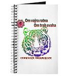 tiger face Journal