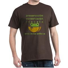 Colored T- preservacion, conservacion, rescata