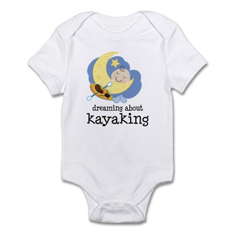 Dreaming About Kayaking Infant Bodysuit